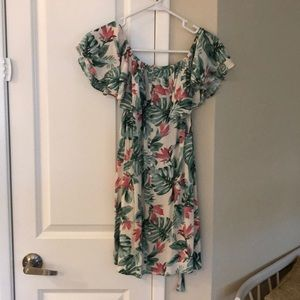 Forever 21 tropical dress size small